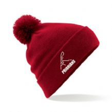 Priorians Hockey Club Red Bobble Hat - 2018